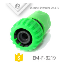 EM-F-B219 Green plastic hose connector for garden